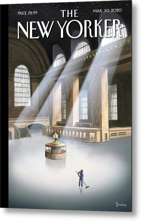 Grand Central Terminal Metal Print featuring the painting Grand Central Terminal by Eric Drooker