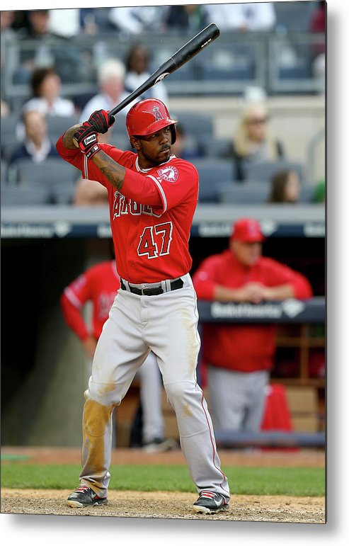 Ninth Inning Metal Print featuring the photograph Howie Kendrick by Elsa