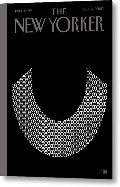 Rbg Metal Print featuring the digital art Icons by Bob Staake