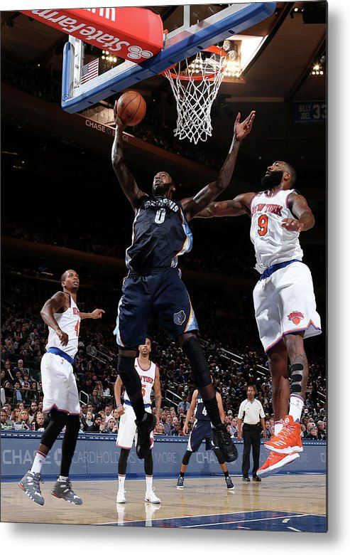 Nba Pro Basketball Metal Print featuring the photograph Jamychal Green by Nathaniel S. Butler