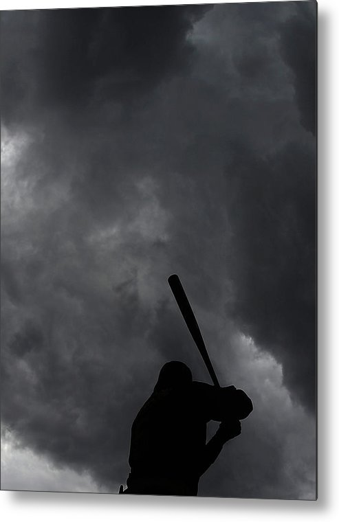 People Metal Print featuring the photograph Josh Harrison by Christian Petersen