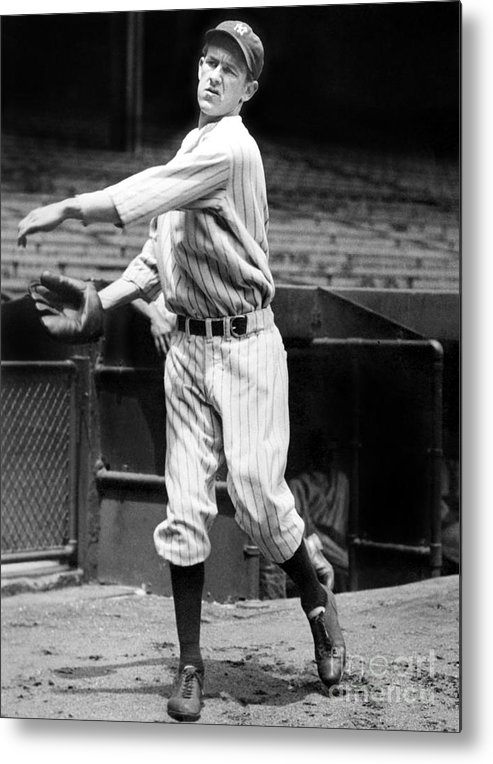 1930-1939 Metal Print featuring the photograph Lefty York by National Baseball Hall Of Fame Library