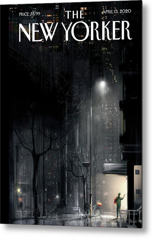 Lifeline Metal Print featuring the painting Lifeline by Pascal Campion