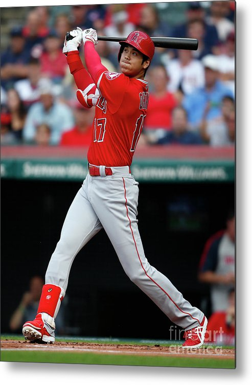 People Metal Print featuring the photograph Mike Clevinger by Ron Schwane