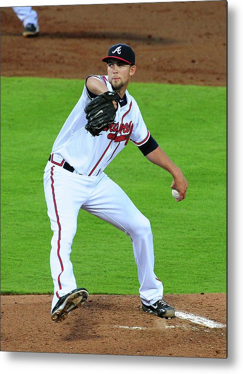 Atlanta Metal Print featuring the photograph Mike Minor by Scott Cunningham