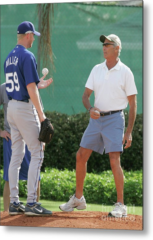 Sandy Koufax Metal Print featuring the photograph Sandy Koufax by Icon Sports Wire