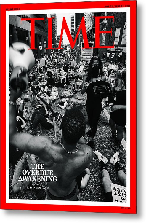 Systemic Racism Metal Print featuring the photograph The Overdue Awakening by Photograph by Devin Allen