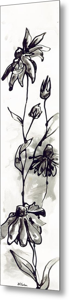 Daisy Metal Print featuring the painting Grow by Holly Carton