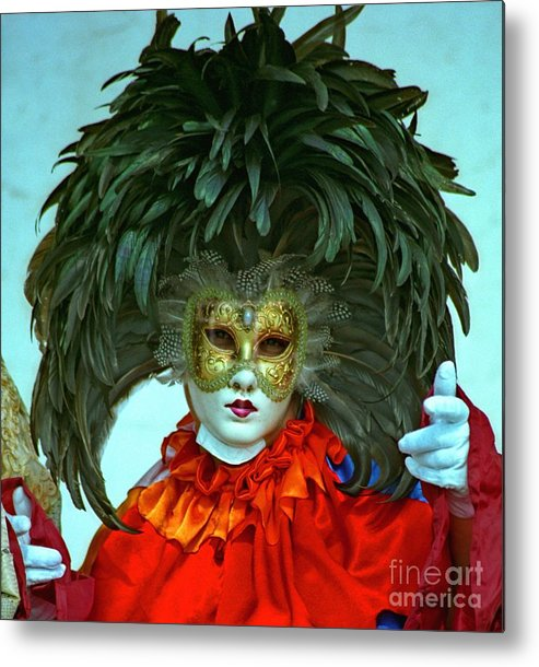Venice Metal Print featuring the photograph Character In Venice by Michael Henderson
