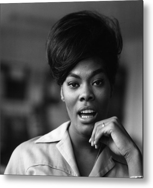 Thank You Metal Print featuring the photograph Photo Of Dionne Warwick by David Redfern