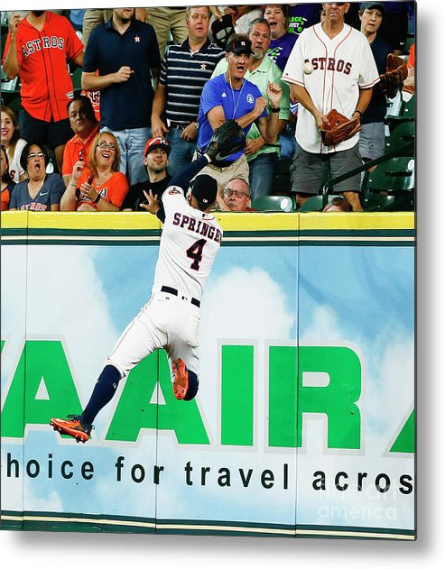 People Metal Print featuring the photograph George Springer by Bob Levey