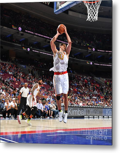 Nba Pro Basketball Metal Print featuring the photograph Kris Humphries by Jesse D. Garrabrant
