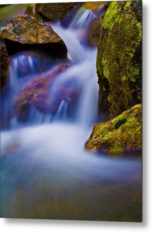 Brook Metal Print featuring the photograph Fantasy Stream by Jim DeLillo