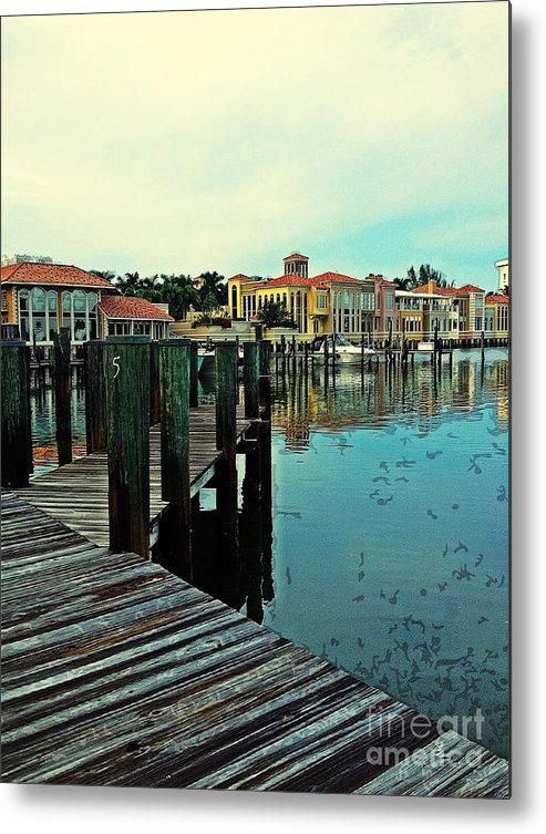 Southwest Florida Metal Print featuring the photograph View From The Boardwalk by K Simmons Luna