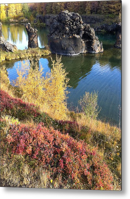 Myvatn Metal Print featuring the photograph Klasar by Rune Valtersson