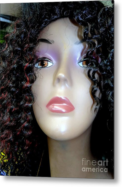 Mannequins Metal Print featuring the photograph A Touch Of Red by Ed Weidman