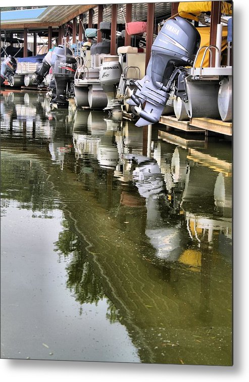 Boating Metal Print featuring the photograph Boating by Dan Sproul