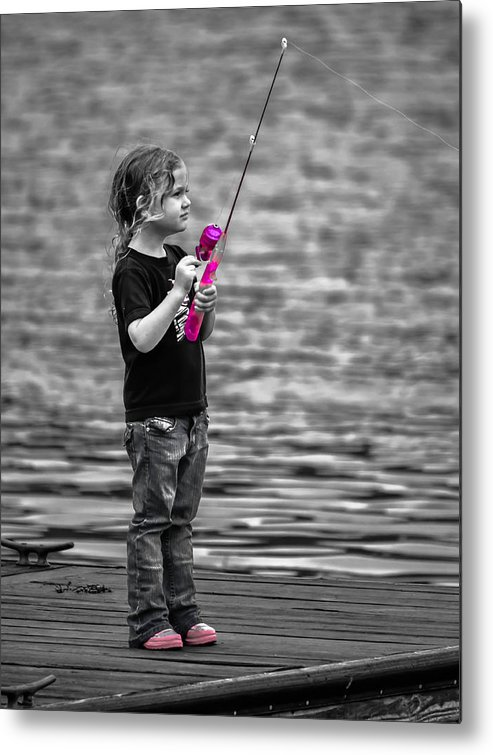 Angler Metal Print featuring the photograph Pretty In Pink by Brian Stevens