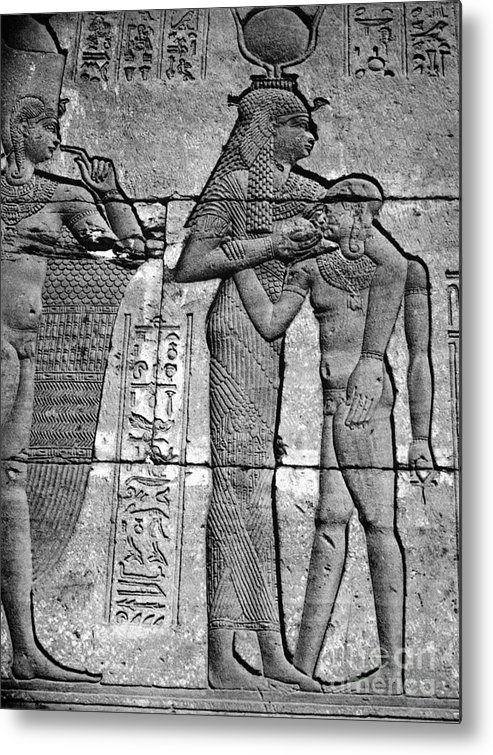 1st Century B.c Metal Print featuring the photograph Cleopatra Vii (69-30 B.c.) by Granger