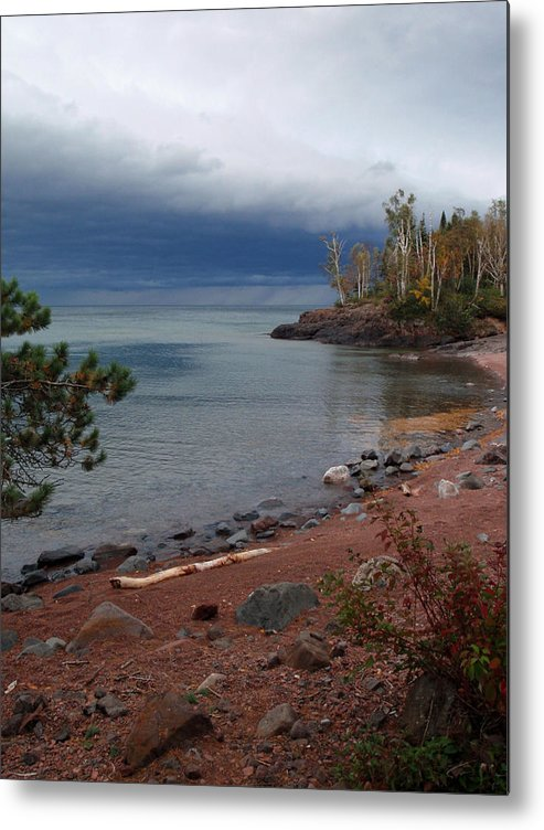 Melissa Peterson Nature Photography Scenic Scenery Iona's Beach Beaches Metal Print featuring the photograph Get Lost In Paradise by James Peterson