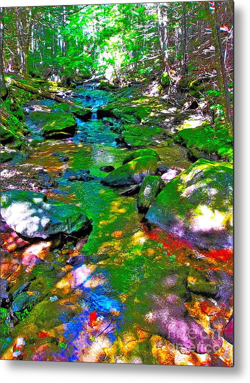 Landscape Metal Print featuring the photograph Hcbyb 116 by George Ramos