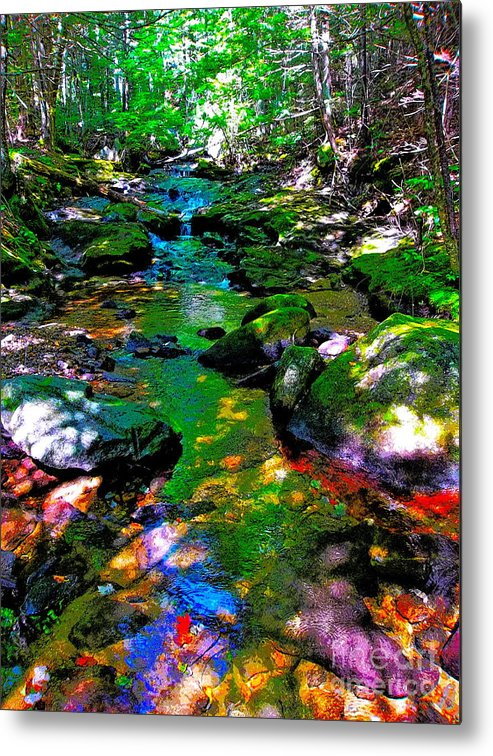 Landscape Metal Print featuring the photograph Hcbyb 276 by George Ramos