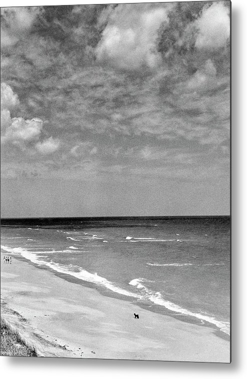 Hobe Sound Metal Print featuring the photograph The Beach At Hobe Island by Serge Balkin
