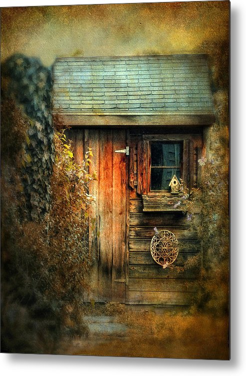 Shed Metal Print featuring the photograph The Shed by Jessica Jenney