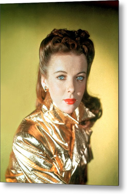 1940s Metal Print featuring the photograph Ida Lupino by Everett