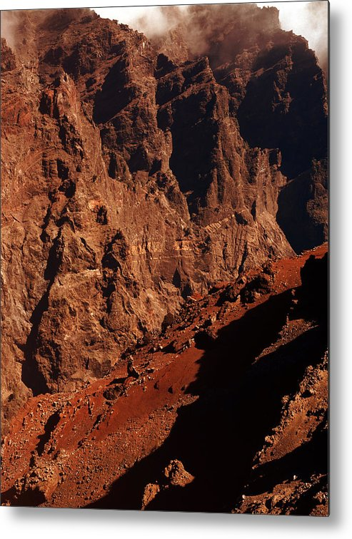 Astronomy Metal Print featuring the photograph Martian Landscape by Detlev Van Ravenswaay