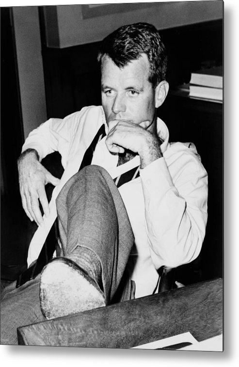 History Metal Print featuring the photograph Attorney General Robert F. Kennedy by Everett