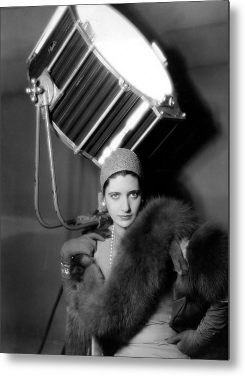 1920s Fashion Metal Print featuring the photograph Kay Francis Around 1930 by Everett