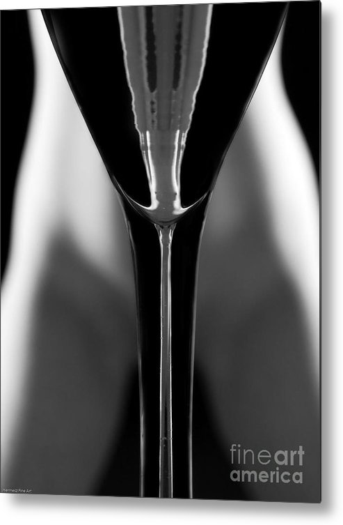 Female Nude Metal Print featuring the photograph Abstract Realities IIi by John Hermann