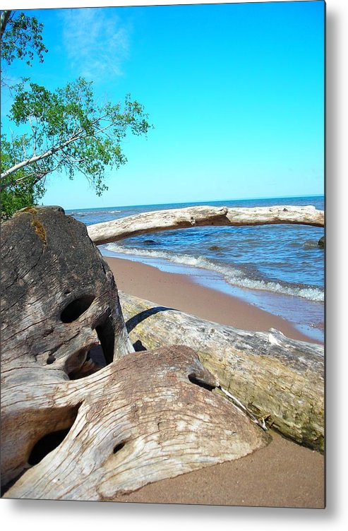 Beach Metal Print featuring the photograph Beach Lodging by Peter Mowry