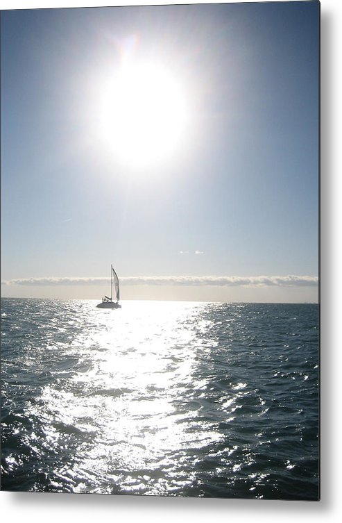 Sailboats Metal Print featuring the photograph Coast Of Chicago by Debra LePage