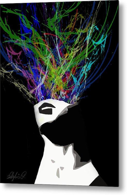 Ideas Metal Print featuring the digital art Ideas by Sylvia Pekarek