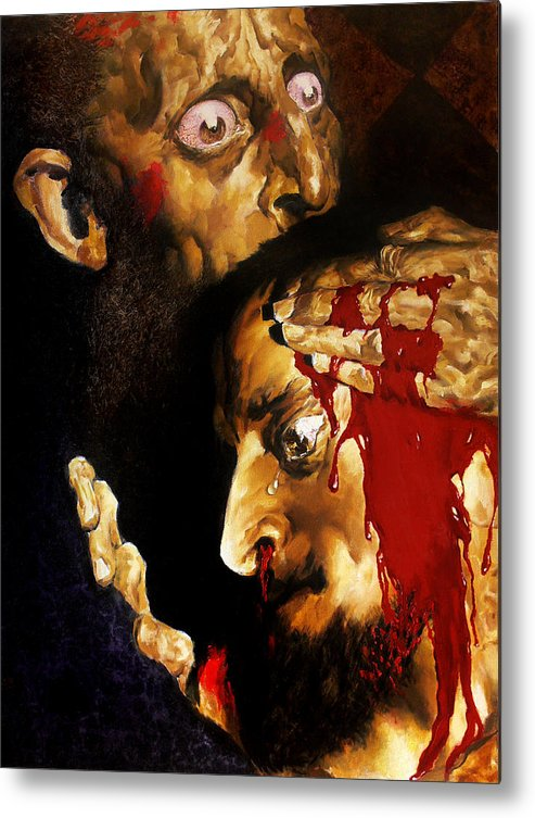 Man Metal Print featuring the painting Ivan D by Valeriy Mavlo