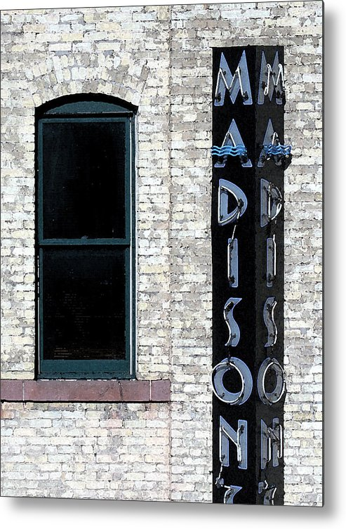 Modern Metal Print featuring the photograph Madison by Gary Everson