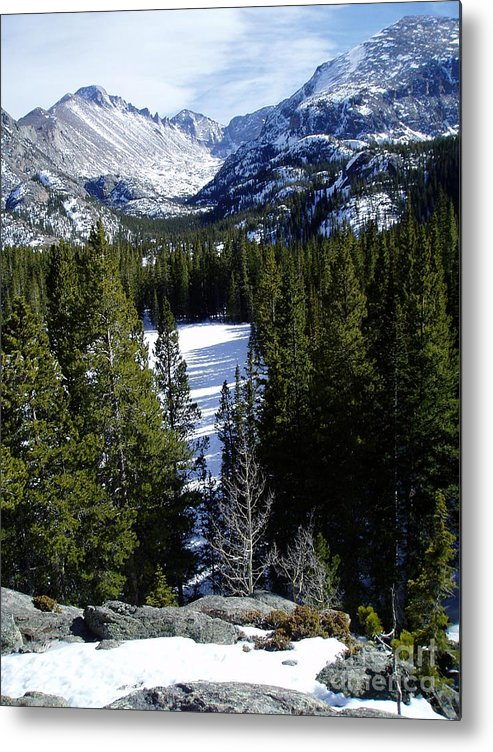 Moutains Metal Print featuring the photograph Majestic by Lindsay Felty
