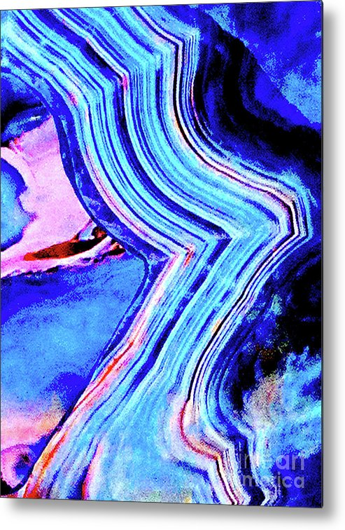 Marble Metal Print featuring the photograph Marble 201 by Ken Lerner