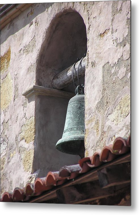 Missions Metal Print featuring the photograph Mission Bell by Richard Mansfield