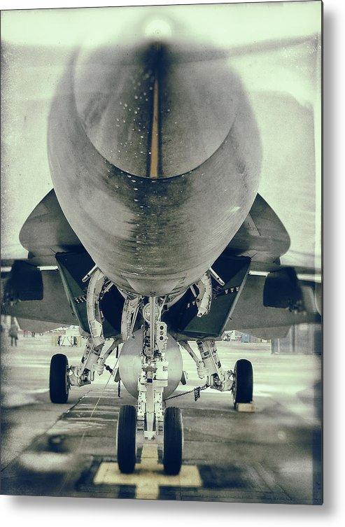 Plane Metal Print featuring the photograph Plane by Tomas Donauskas