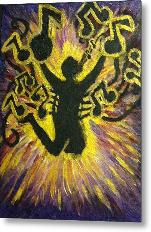 Worship Metal Print featuring the painting Spirit And Truth by Christie Lee