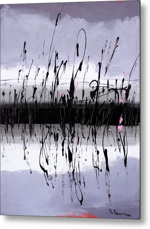 Swamp Metal Print featuring the painting Swamp by Mario Zampedroni