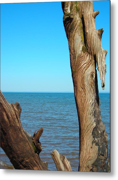 Ocean Metal Print featuring the photograph Tribal Markings by Peter Mowry