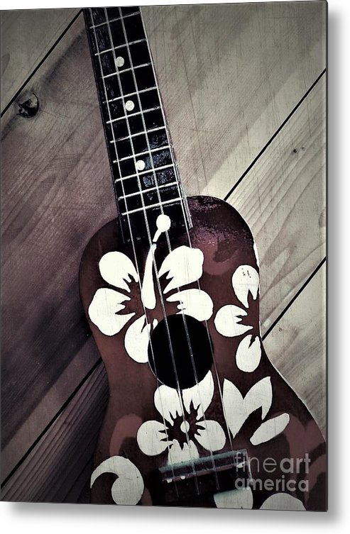 Hawaii Metal Print featuring the photograph Ukulele by Jodi Horist