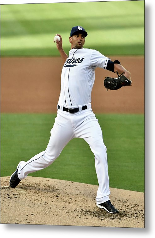 Second Inning Metal Print featuring the photograph Tyson Ross by Denis Poroy
