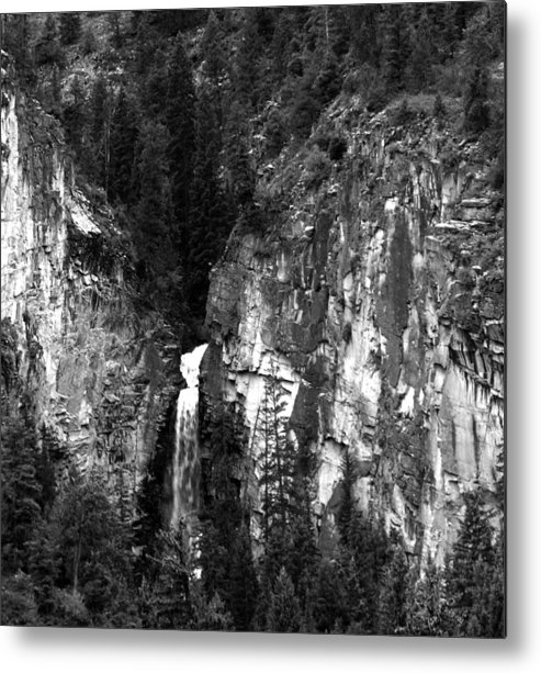 Colorado Metal Print featuring the photograph Waterfall By Marble Colorado by Robert Lozen