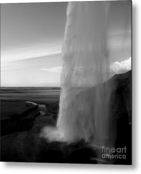 Waterfal Metal Print featuring the photograph Seljalandsfoss by Michael Canning
