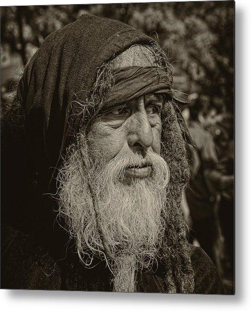 Homeless Metal Print featuring the photograph After Brueghel by Robert Ullmann